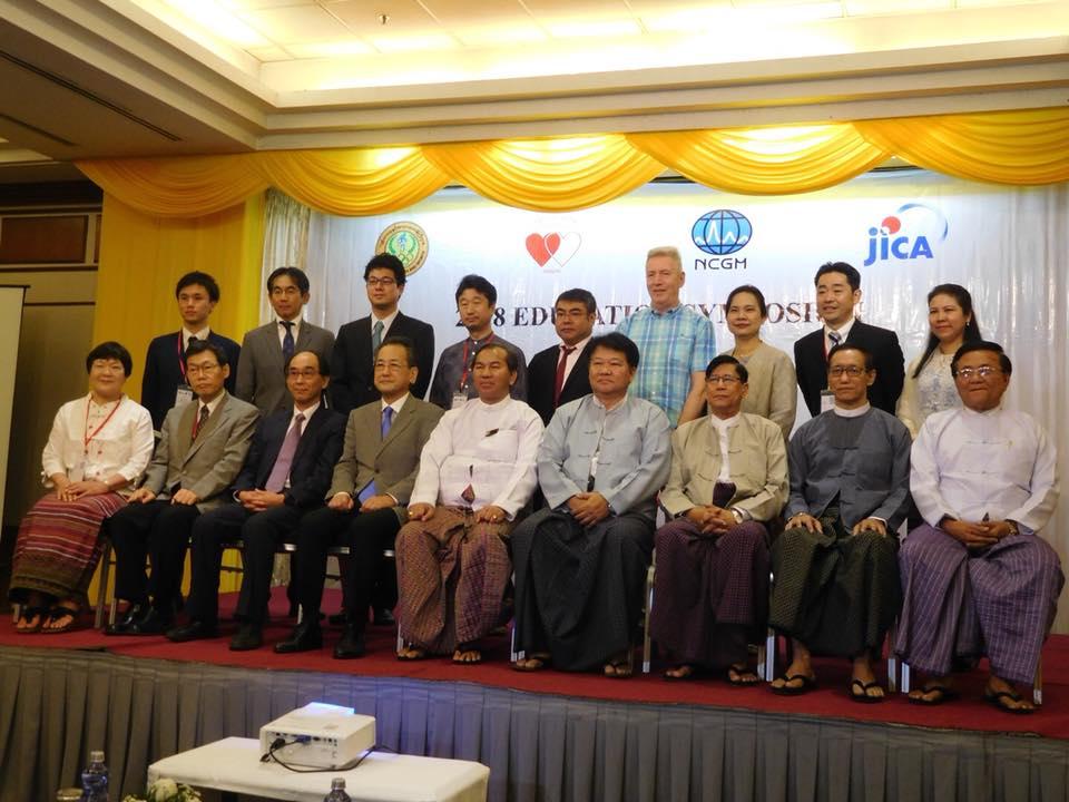 ミャンマーラカイン州寄贈式典